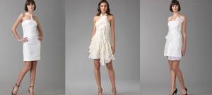 короткие свадебные кружевные платья 2011