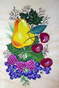 Картинки фруктов для разделочной доски