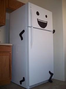 прикольный холодильник