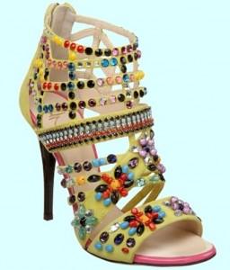 женские туфли в стиле этно
