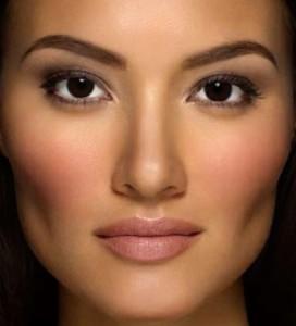 макияж для карих глаз брюнеток