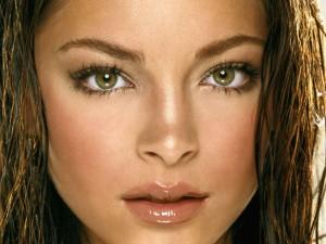 макияж для зеленых глаз для шатенок