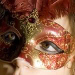 новогодняя, карнавальная маска