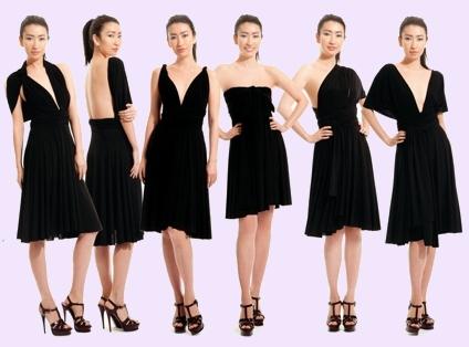 платье трансформер фото