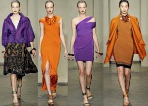 Модная одежда весна-лето 2012