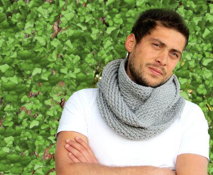 мужские шарфы 2014-2015