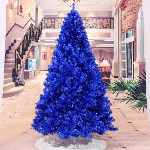 искусственная синяя ёлка