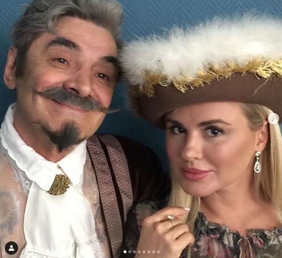 Александр Панкратов-Чёрный и Анна Семенович