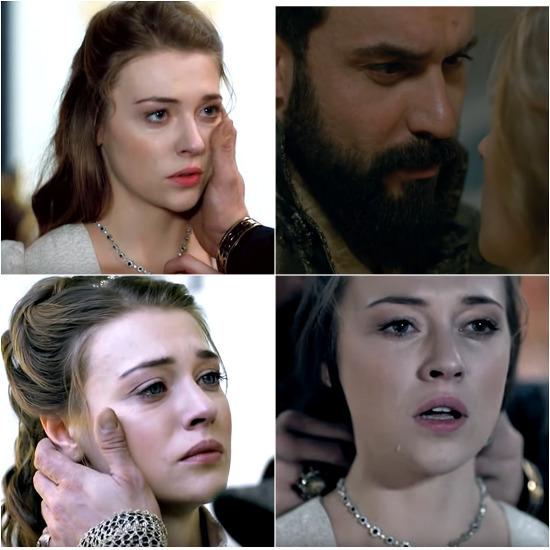 Анна плачет