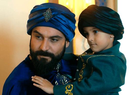 Султан Махмуд II с сыном Абдул-Азизом