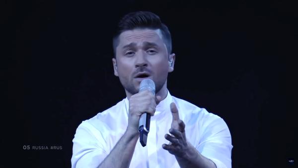 Сергей Лазарев в финале Евровидения 2019