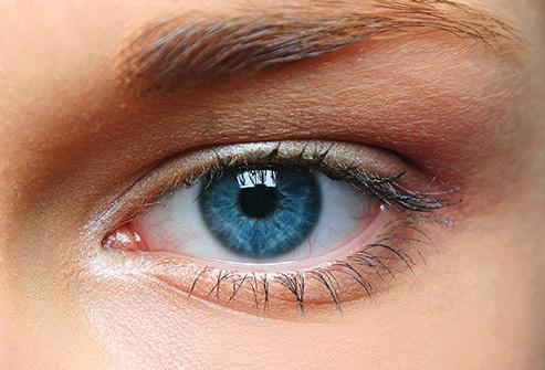 Цвет глаз, голубые глаза