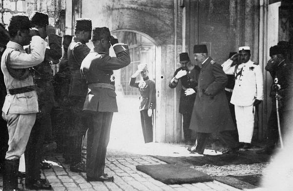 Отъезд Мехмеда VI