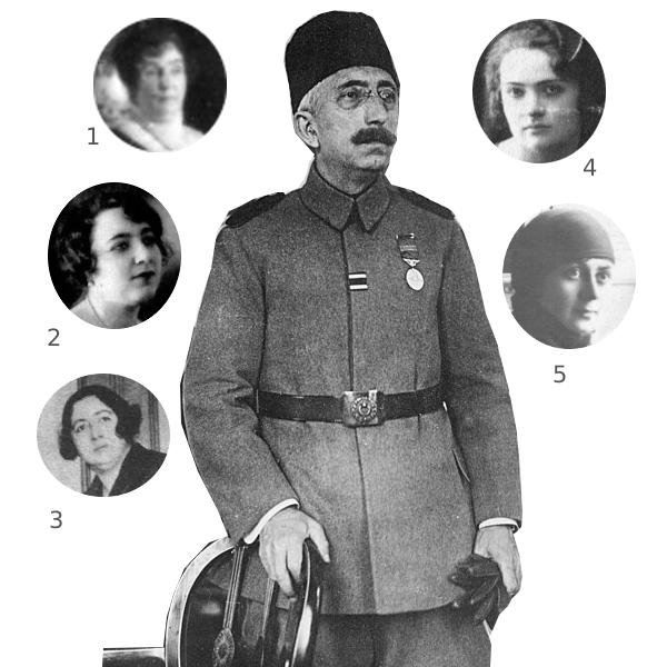 Мехмед 6 и его 5 жён
