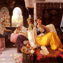 Зачем фаворитки султана прятали нижнее бельё?