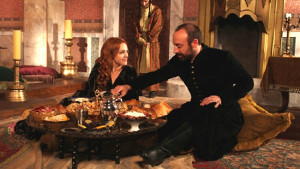 Хюррем и султан Сулейман