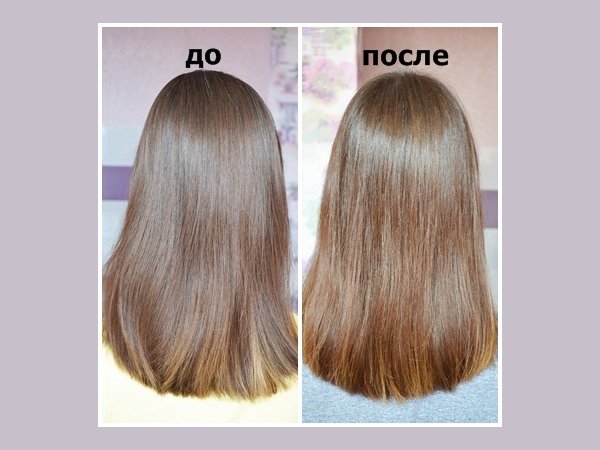 Волосы после Мирролы