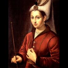 Таинственная палочка Хюррем — что у неё в руке на картине?