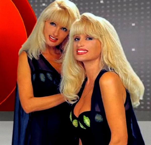 Сёстры Зайцевы в 90-е годы
