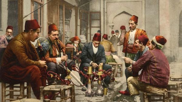 Кофейня в Стамбуле