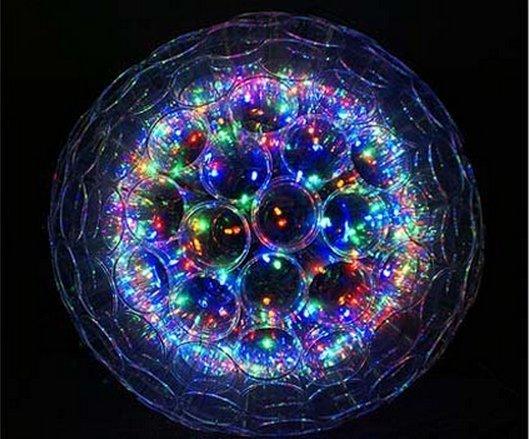 Новогодний светильник из стаканчиков
