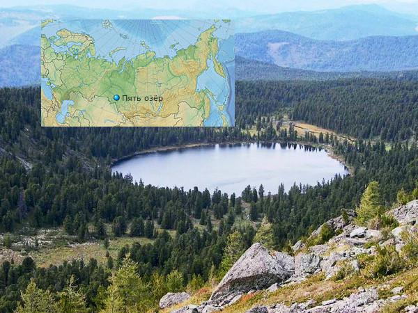 Тайна сибирского озера с мёртвой водой