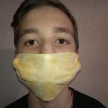 Как сделать защитную маску от коронавируса за 5 минут