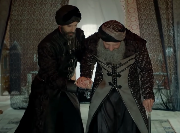 Султан Сулейман в старости