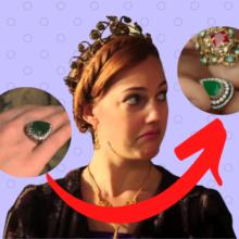 Почему создатели сериала поменяли кольцо Хюррем?