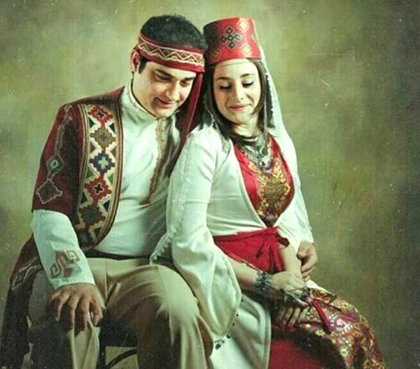Армянские молодожены