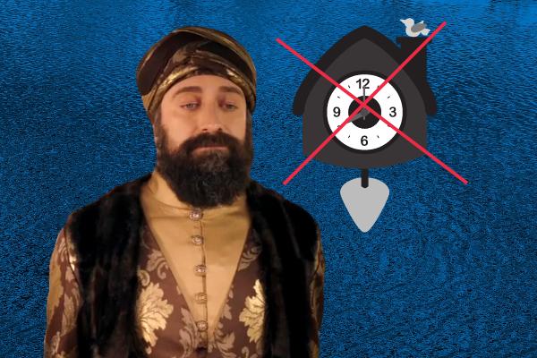 Султан Сулейман и часы