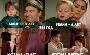 Возрастные несоответствия в «Великолепном веке»